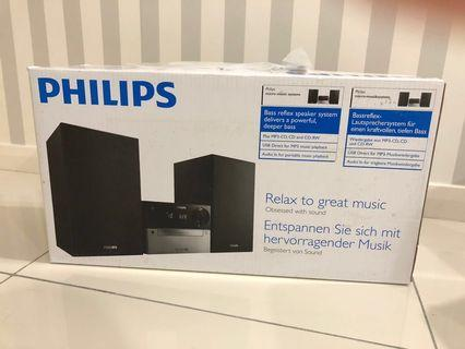NEW!! Philips Micro Music Systems