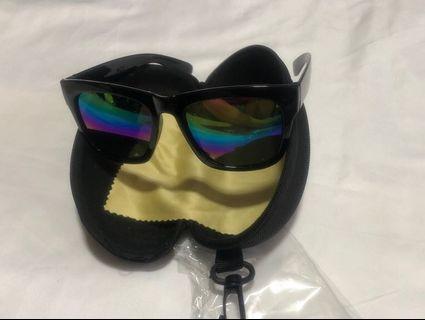 Rainbow Reflective Sunglasses
