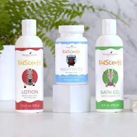 Young living Kidscents bathgel shampoo lotion toothpaste