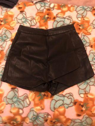Bardot Leather Skort 6