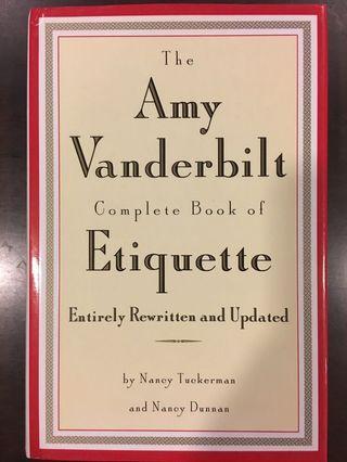 🚚 The Amy Vanderbilt Complete Book of Etiquette