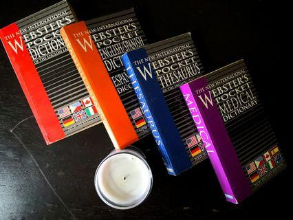 Webster's Pocket Dictionary Set (2010) edition