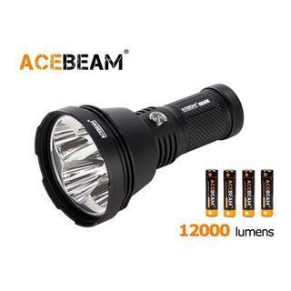 {MPower} AceBeam X65 Mini 美國名廠 CREE XHP35 HI 12000 流明 LED Flashlight 電筒 (附送 18650) - 原裝行貨