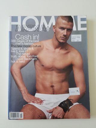 Magazine - Arena Homme plus,  #14, Autumn/Winter Issue 2000/2001
