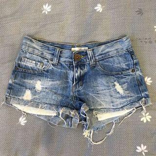 Cotton On Ripped Denim Shorts
