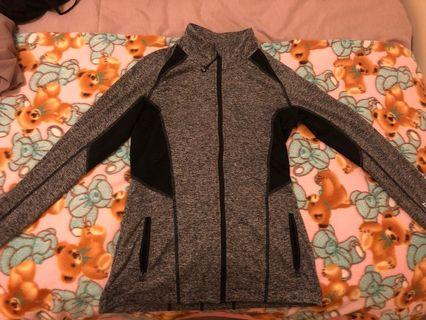 Lorna Jane Zip Jacket Grey XS