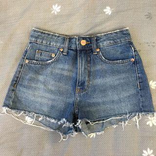 H&M High-waisted Denim Shorts