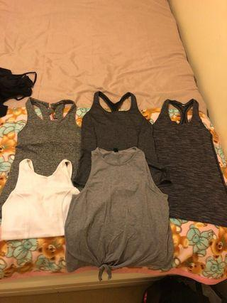 Gym Tanks XS/6