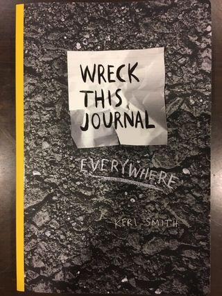 🚚 Wreck this journal everywhere