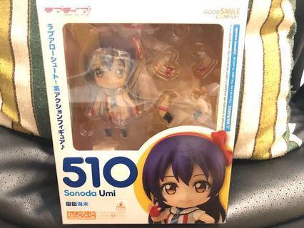 Love Live! Nendoroid 100%正版 全新 黏土人 園田海未 510 (蝕讓)
