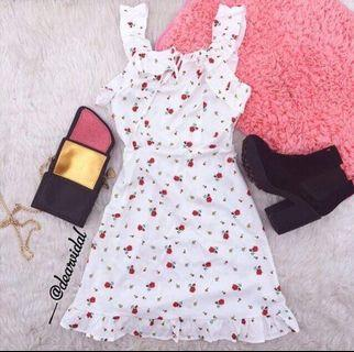 Floral Print Zaful Inspired Frill Dress