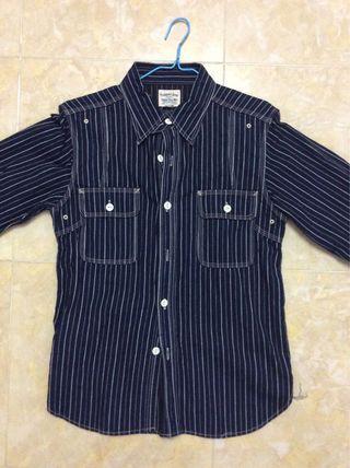 Pherrows wabash work shirt size 38 99%new