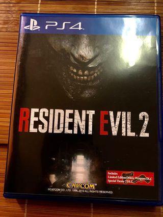 🚚 Ps4 resident evil 2