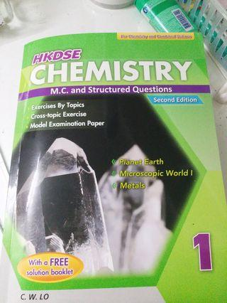HKDSE Chemistry Exercise🐉Book 1 M.C and Structured Questions
