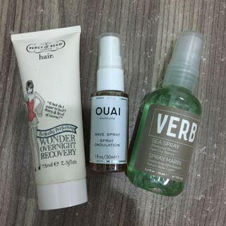 Verb / OUAI / Percy & Reed Haircare