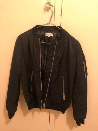 Showpo Black Bomber Jacket 6