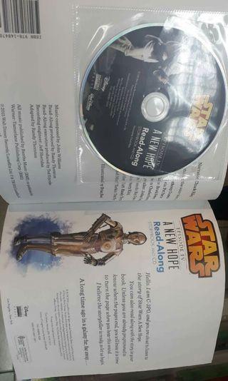 Star wars : new hope - storybook and cd