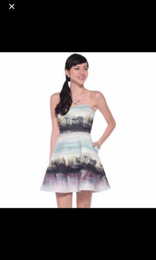 Love Bonito farryne neoprene dress