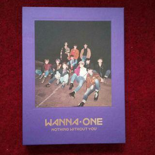WANNA ONE - Nothing Without You (NTWY) Album only