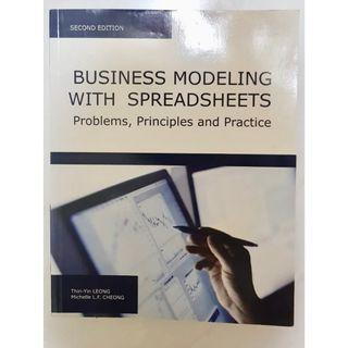 Business Modeling with Spreadsheets: Problems, Principles and Practice