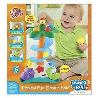 Bright starts tropical fun drop n spin