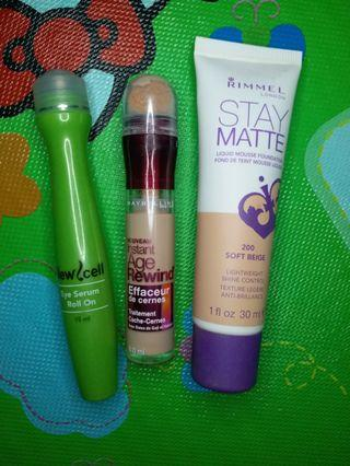 [PAKET] Maybelline; Rimmel; New cell