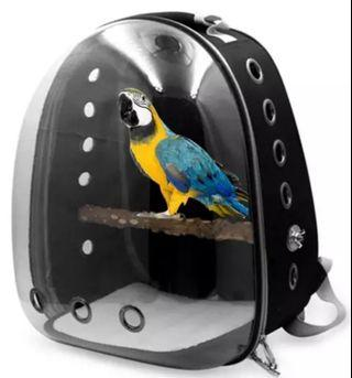 Ex-stock !!! 6 color to choose from!!! LARGE 41(ht) x 31 x28cm Bird Carrier Bag WITH Perch !!! $28 with perch !!! Ideal for Parrot !!! BRAND NEW !!!