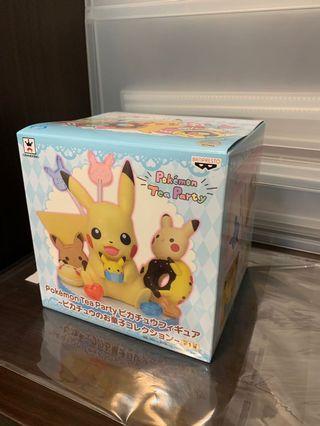 絕版比卡超擺設 2018年 日版 Pokémon Tea Party