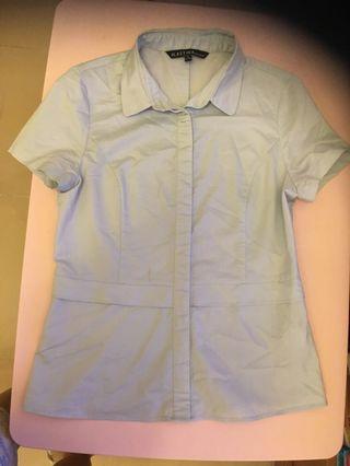 Mastina size 38 淺色短袖恤衫