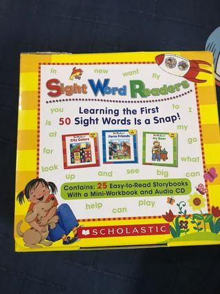 Sight word readers scholastic 幼兒英文書 english story book