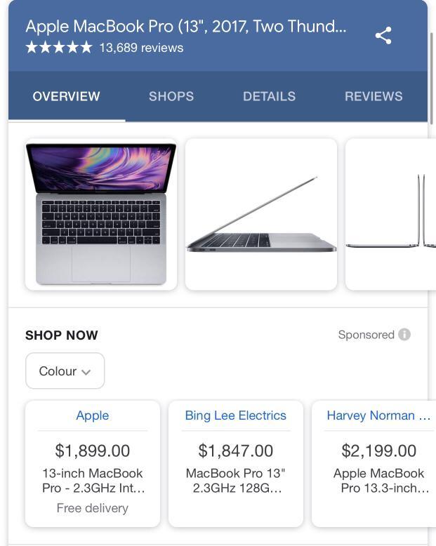 2019 macbook pro 13 inch