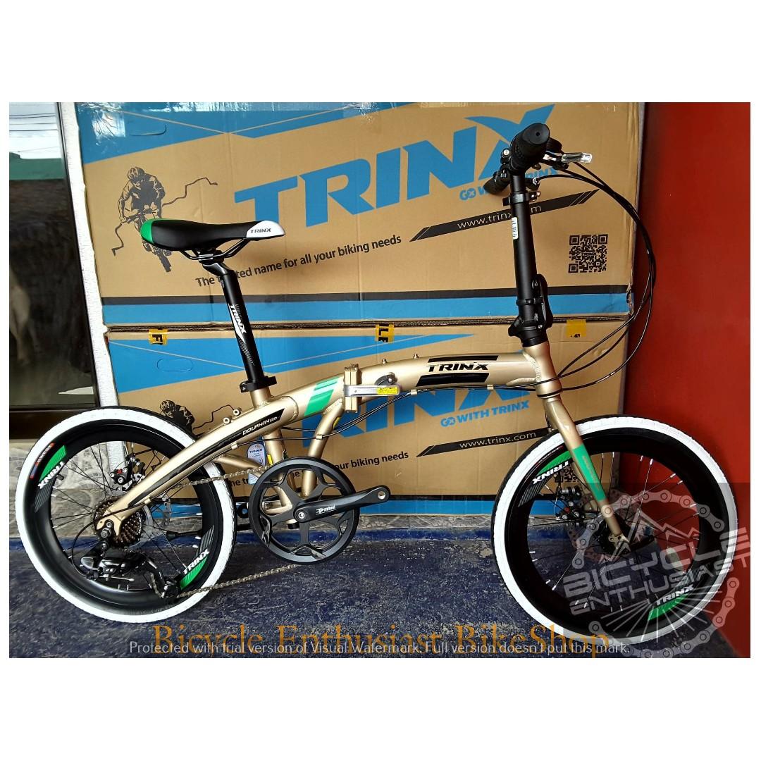 2019 Trinx Dolphin 2 0 Folding Bike 20 Tiklop Society Philippines