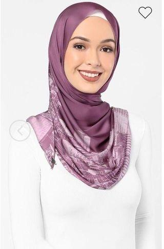 London dUCk scarf in mauve
