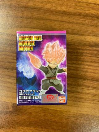 全新 龍珠 食玩 dragon ball db adverge motion goku 悟空 black 紅髮