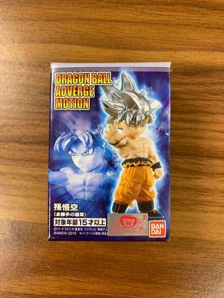 全新 龍珠 食玩 dragon ball db adverge motion goku 悟空 極意