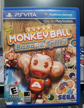 PSVITA Super Monkey Ball Banana Splitz
