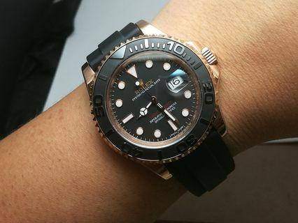 NOOB Rolex Yachtmaster Everose best edition