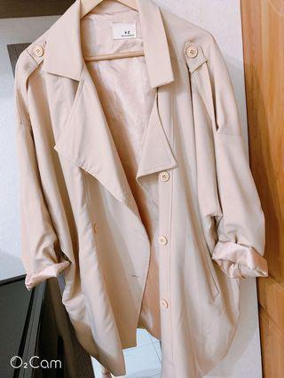 🚚 素色寬版西裝外套