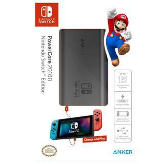 Anker PowerCore 20100 Nintendo Switch Edition Power Bank