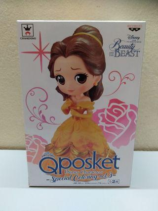 Q Posket Disney Character Beauty And The Beast Belle Special Coloring Volume 3