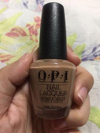 OPI Nail Polish (shade:san tan-tonio)