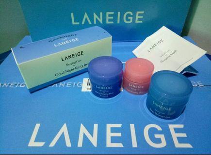 Laneige Sleeping Mask Trial Kit