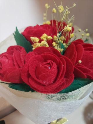 一束 玫瑰花 rose handmade 結婚 求婚 wedding  影相