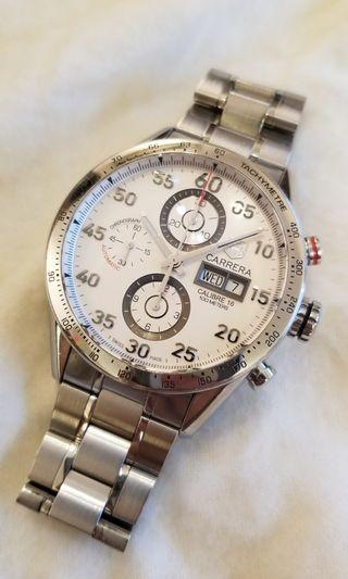 TAG HEUER CV2A11 CALIBRE 16 CARRERA CHRONOGRAPH 瑞士豪華計時錶
