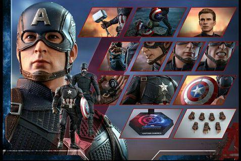 Hot Toys Captain America Endgame