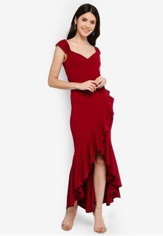 🚚 Goddiva high low hem dress