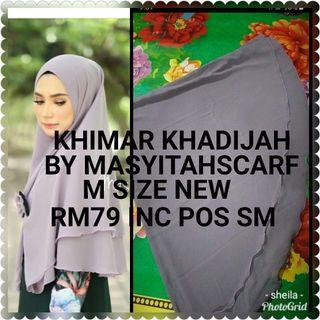 Khimar Layer Khadijah by Masyitahscarf