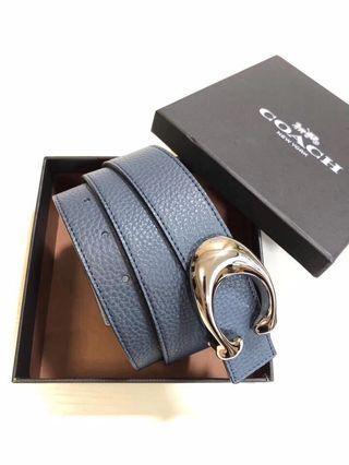 Coach reversible belt