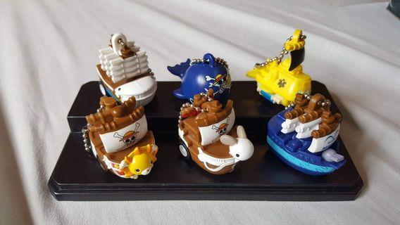 One Piece - Gashapon - Ship Set