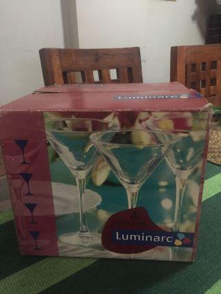 LUMINARC Cocktail Glass Set of 4